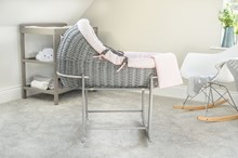 Cotton Dream Grey Willow Bassinet