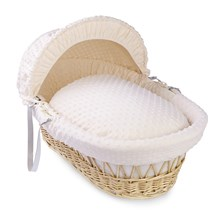 Dimple Moses Basket Dressings Bedding Set