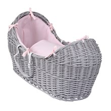 Cotton Candy Grey Wicker Noah Pod®