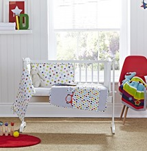 Tiddlywinks Crib/Cradle Quilt & Bumper Bedding Set