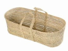 Palm Moses Basket Undressed