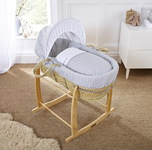 Barley Bébé Moses Basket Dressings Bedding Set