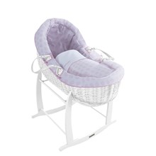 Speckles White Willow Bassinet®