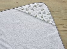 Sparkling Muslin Hooded Towel