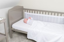 Cotton Dream Coverlet & Twin Breathable Bumpers Bedding Set