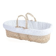 Dancing Spot Palm Moses Basket