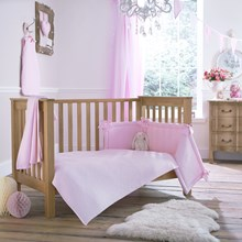 Cotton Candy Cot/Cot Bed Quilt & Bumper Bedding Set