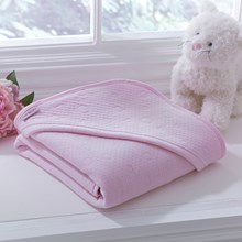 Cotton Candy Hooded Blanket