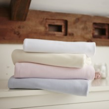2 Pack Fitted Cotton Moses Basket Sheets