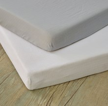 Muslin 2 Pack Fitted Cot Bed Sheets