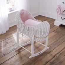 Cotton Candy White Wicker Noah Pod®