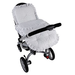 Broderie Anglaise Continental Pram Set