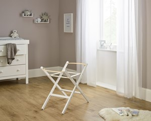 Self Assembly Wooden Folding Moses Basket Stand