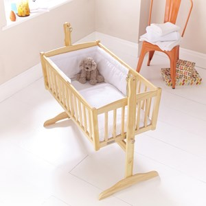 Honeycomb Crib/Cradle Quilt & Bumper Bedding Set