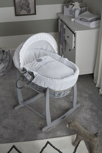 Over the Moon Moses Basket Dressings Bedding Set