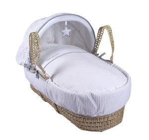 Silver Lining Palm Moses Basket