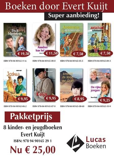 8 kinder- en jeugdboeken van Evert Kuijt (Pakket)