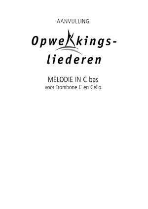 Opwekking muziekboek 820-831 in C-Bas (Losse bladen/Geniet)