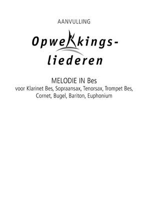 Opwekking muziekboek 820-831 in Bes (Losse bladen/Geniet)