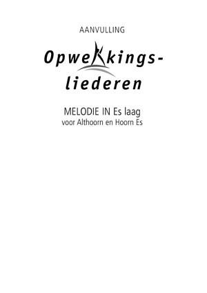Opwekking muziekboek 820-831 in Es-laag (Losse bladen/Geniet)