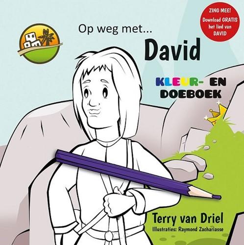 Op weg met David (Kleurboek) (Paperback)