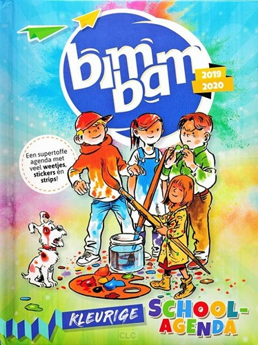 BimBam schoolagenda 2019-2020 (Hardcover)