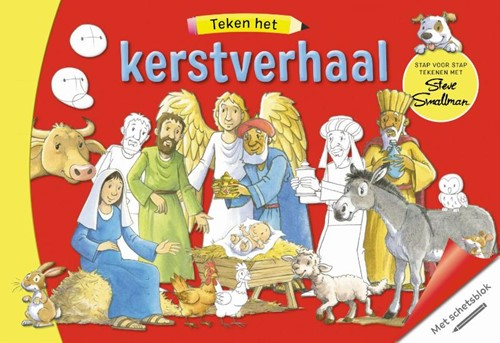 Teken het kerstverhaal (Hardcover)