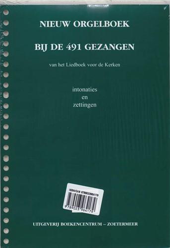 Nieuw Orgelboek bij de 491 Gezangen (Losse bladen)