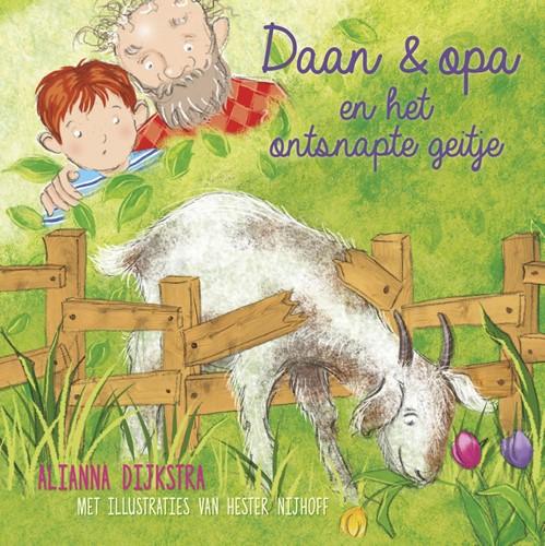 Daan en opa en het ontsnapte geitje (Hardcover)