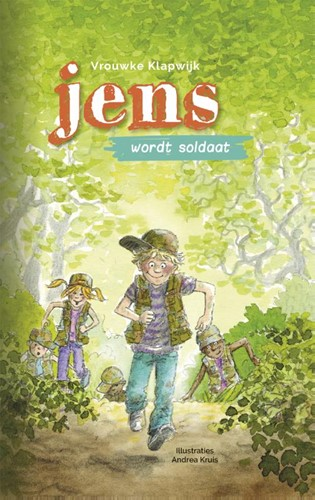 Jens wordt soldaat (Hardcover)