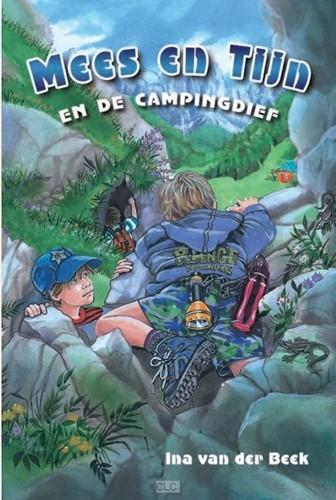 Mees en Tijn en de campingdief (Hardcover)