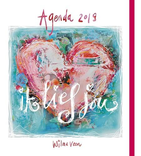 Ik lief jou - Agenda 2019 (Hardcover)