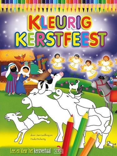 Kleurig kerstfeest (Boek)