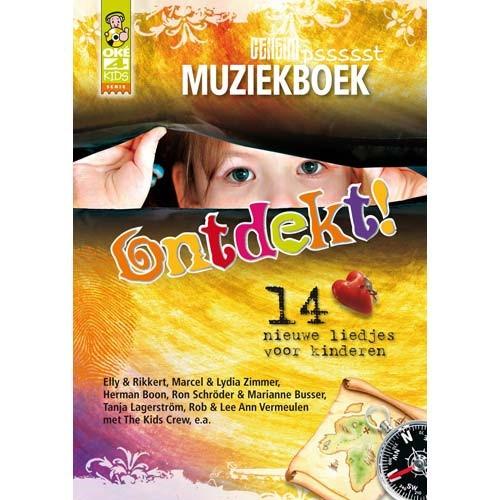 Ontdekt! - muziekboek (Boek)