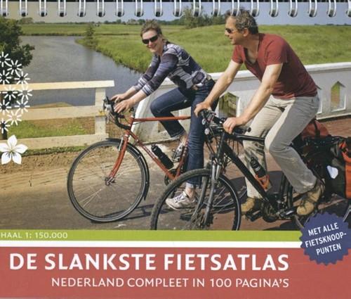 De Slankste Fietsatlas van Nederland (Hardcover)