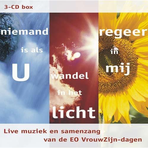 3-CD Box Niemand is als U   Wandel in het licht   Regeer in mij (DVD)
