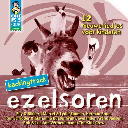 Ezelsoren - backingtrack (CD)
