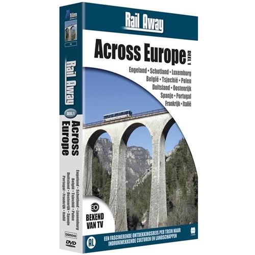Rail Away : across Europe 1 (DVD)