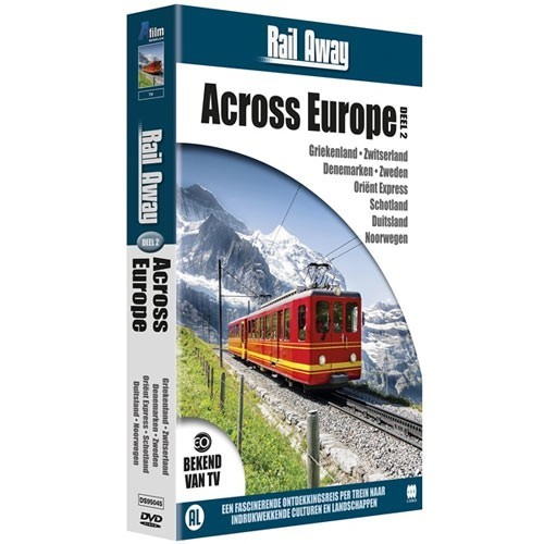 Rail Away : across Europe 2 (DVD)
