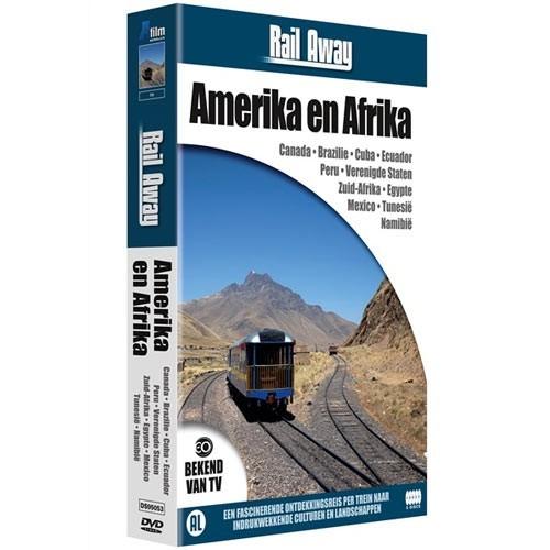 Rail Away : Continenten Box 2 (Amerika e (DVD)