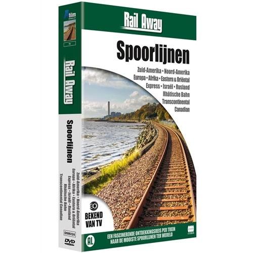 Rail Away : Spoorlijnen (DVD)