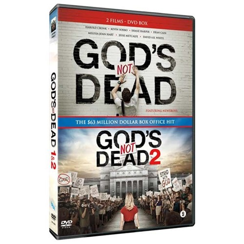 God''s Not Dead 1&2 box (DVD)