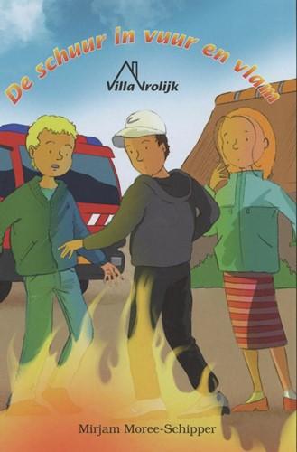 De schuur in vuur en vlam (Hardcover)