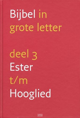 3 Ester t/m Hooglied (Hardcover)
