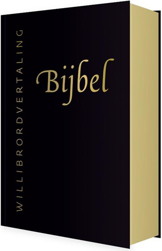 Bijbel (Willibrordvertaling) in leer met goudsnee (zwart) (Hardcover)