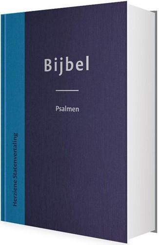 Bijbel herziene Statenvertaling blauw (Hardcover)
