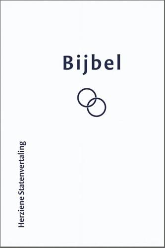 Bijbel Huwelijksbijbel Herziene Statenvertaling wit (Hardcover)