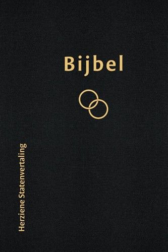 Bijbel Huwelijksbijbel Herziene Statenvertaling zwart (Hardcover)