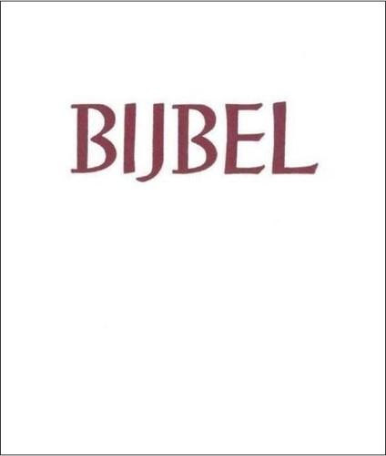 Huisbijbel, Stevig kunstleer goudsnee wit (Hardcover)