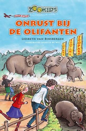 Onrust bij de olifanten (Hardcover)